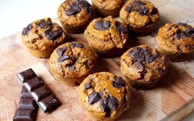 Dýňové muffinky s čokoládou