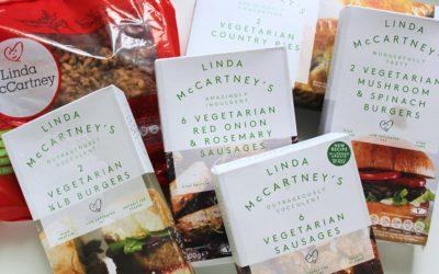 Veganské produkty Linda McCartney