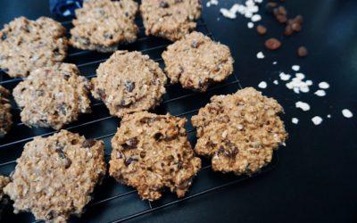 Ovesné sušenky s rozinkami